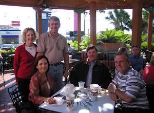 Photo: Barbara Fletcher, Marvin Fletcher, Nancy (Seiler) McCarthy, Ralph Rogers, Terry Dietz
