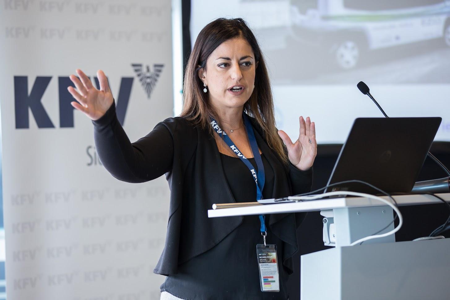 Prof. Dr. Natasha Merat © KFV/APA