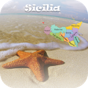 Italian Beaches Sicily Free icon