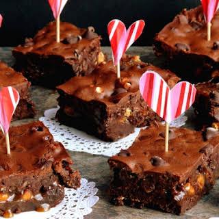 Ooey Gooey Brownies for Lovers.
