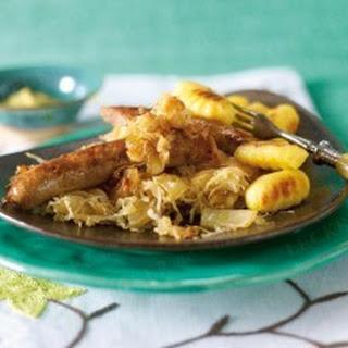 Sauerkraut mit Salsiccia & Gnocchi