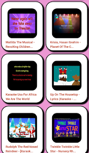 Children Karaoke:- screenshot thumbnail