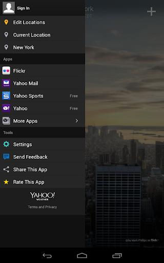 Yahoo Weather screenshot 17