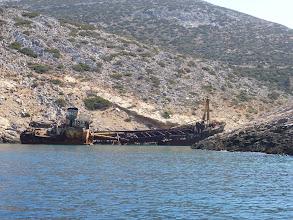 Photo: Shipwreck on Amorgos