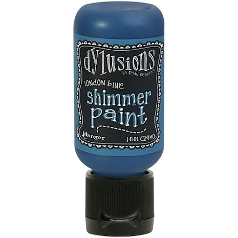 Dylusions Shimmer Paint 29ml - London Blue