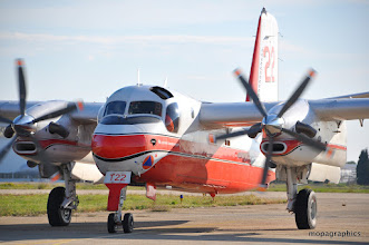 """Photo: le Conair """"Turbo Firecat"""" est propulsé par 2 turbines Pratt & Withney PT6a-67AF de 1200 cv chacune."""
