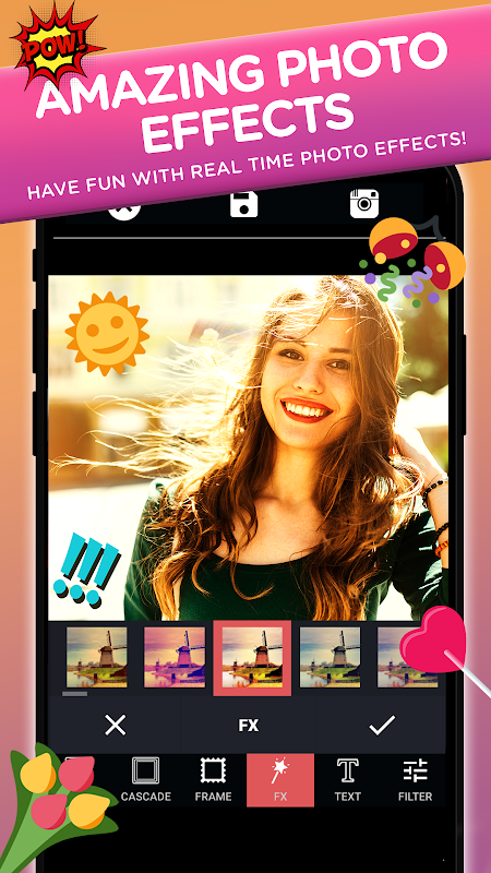 Photo Editor Collage Maker Pro: Filters & Stickers screenshots
