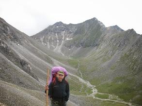 Photo: После спуска с перевала Хубыты (вид на запад)