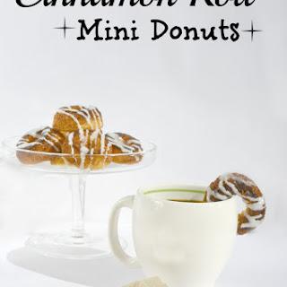 Cinnamon Roll Mini Donuts Recipe