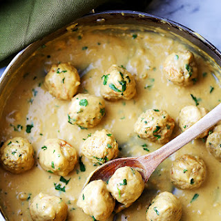 Lightened-Up (Turkey) Swedish Meatballs