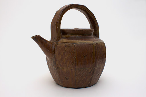 Mike Dodd Large Ceramic Tea Pot 06