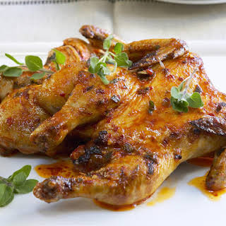 Spicy Butterflied Chicken.