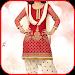 Punjabi Women Photo Suit Icon