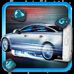 Rain Drop Racing Car Theme Icon