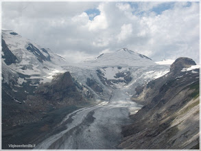 Photo: Carretera de Grossglockner-Hochalpenstrasse ( Austria) Glaciar de Pasterze. http://www.viajesenfamilia.it/