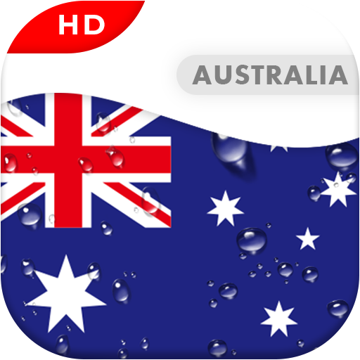 Australia Flag 3D Live Wallpaper Android APK Download Free By I Love My Country Flag
