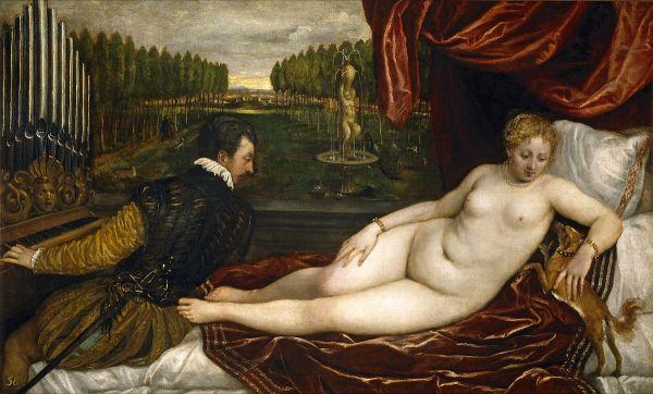 Тициан Венера и музыка