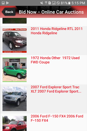 Public Auto Auctions  screenshots 2