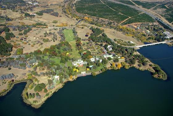 Aerial View of Government House, Canberra