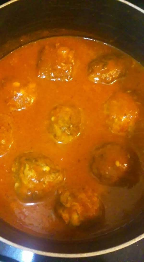 Meatballs With Garlic & Parmesan Cheese