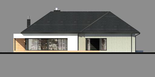 New House 17 - Elewacja tylna