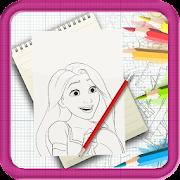 Learn To Draw Disney Princess Step by Step icon