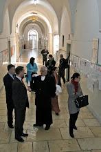 Photo: Visite du collège des Frères à Jérusalem