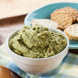 Artichoke and Spinach Hummus.