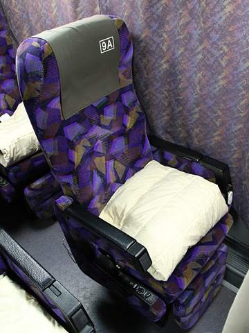 九州産交バス「サンライズ号」 ・707 シート