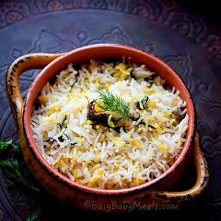 Lemon And Dill Rice Pilaf