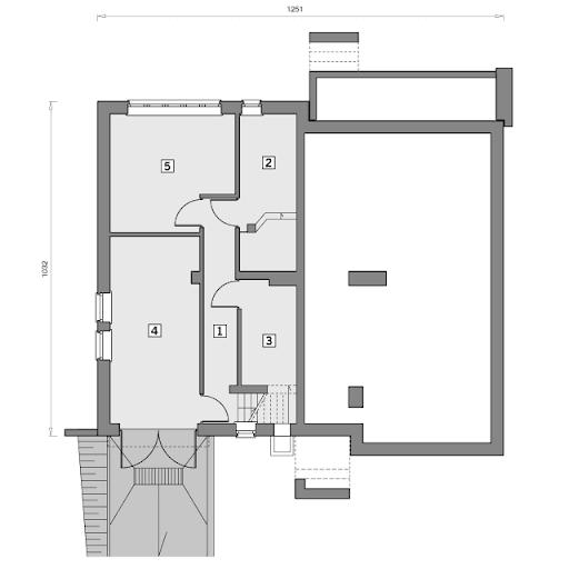 W-0120 Nuta - Rzut piwnicy