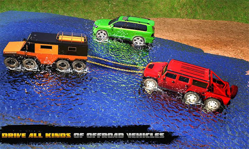 Spin Tires Offroad Truck Driving: Tow Truck Games 1.3 Mod screenshots 4