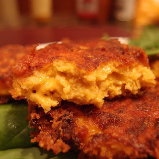 Low Carb Fried Mac & Cheese.