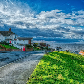 Herne Bay by Gjunior Photographer - City,  Street & Park  Vistas ( seaside, nature, beach, cloud formations, landscape )