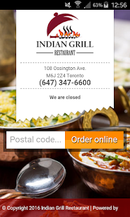 Indian Grill Restaurant- screenshot thumbnail