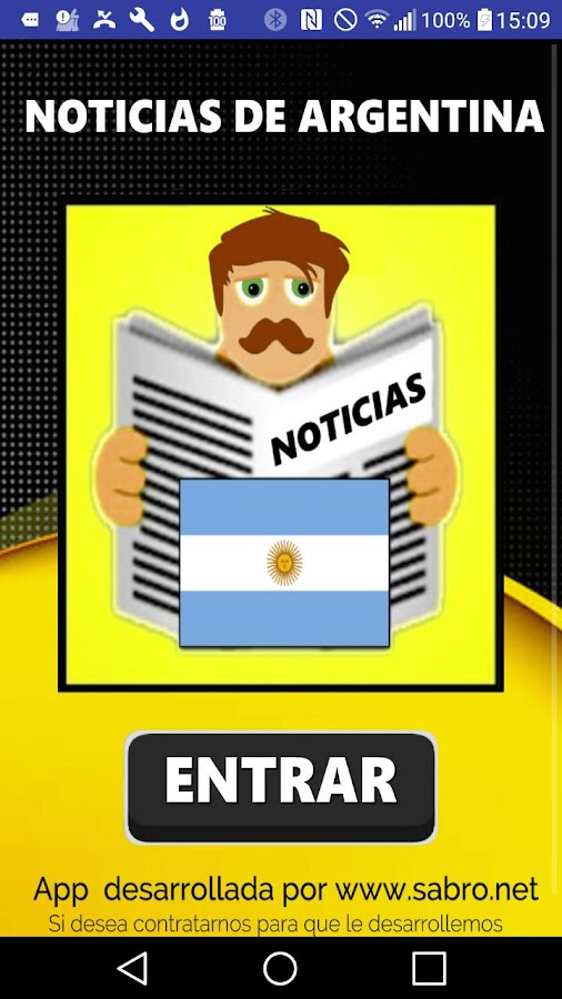 Noticias de argentina app android apps on google play for App noticias android