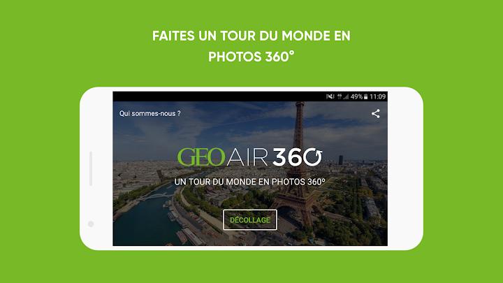 GEO Air 360 Android App Screenshot