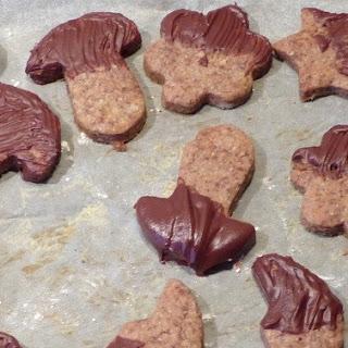 Orange Chocolate Wholemeal Cookies Recipe