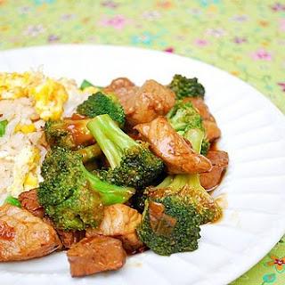 Teriyaki Pork & Broccoli Stir Fry.