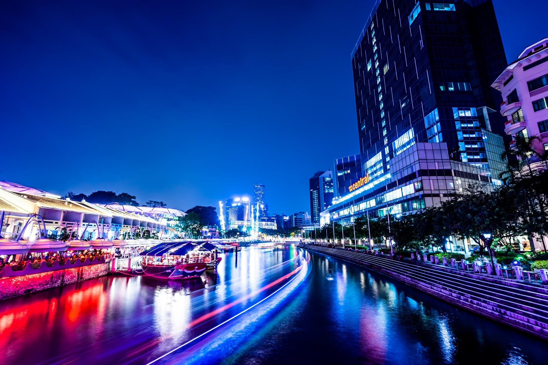 シンガポール クラーク・キー 夜景3