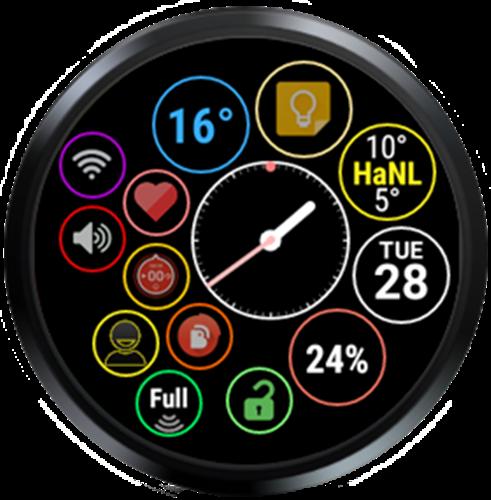 Bubble Cloud Wear Launcher Watchface (Wear OS) 9.39 screenshots 28