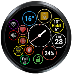 Bubble Widgets + Wear Launcher screenshot 27