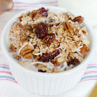 Protein-Packed Chia Seed Granola