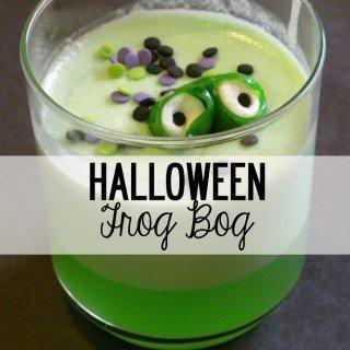 Halloween Frog Bog
