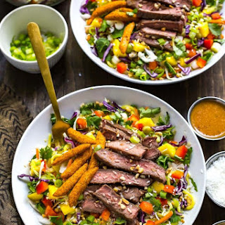 Thai Steak Noodle Salad.