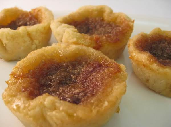 Butter Tarts With Shells.