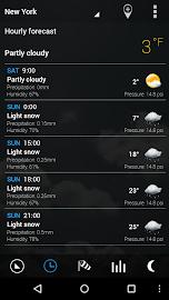 Transparent clock & weather Screenshot 13