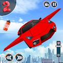 Flying Car Shooting Game: Modern Car Games 2020 icon