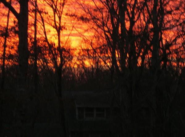 The sunset tonight!