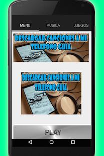 para descargar musica gratis para celular